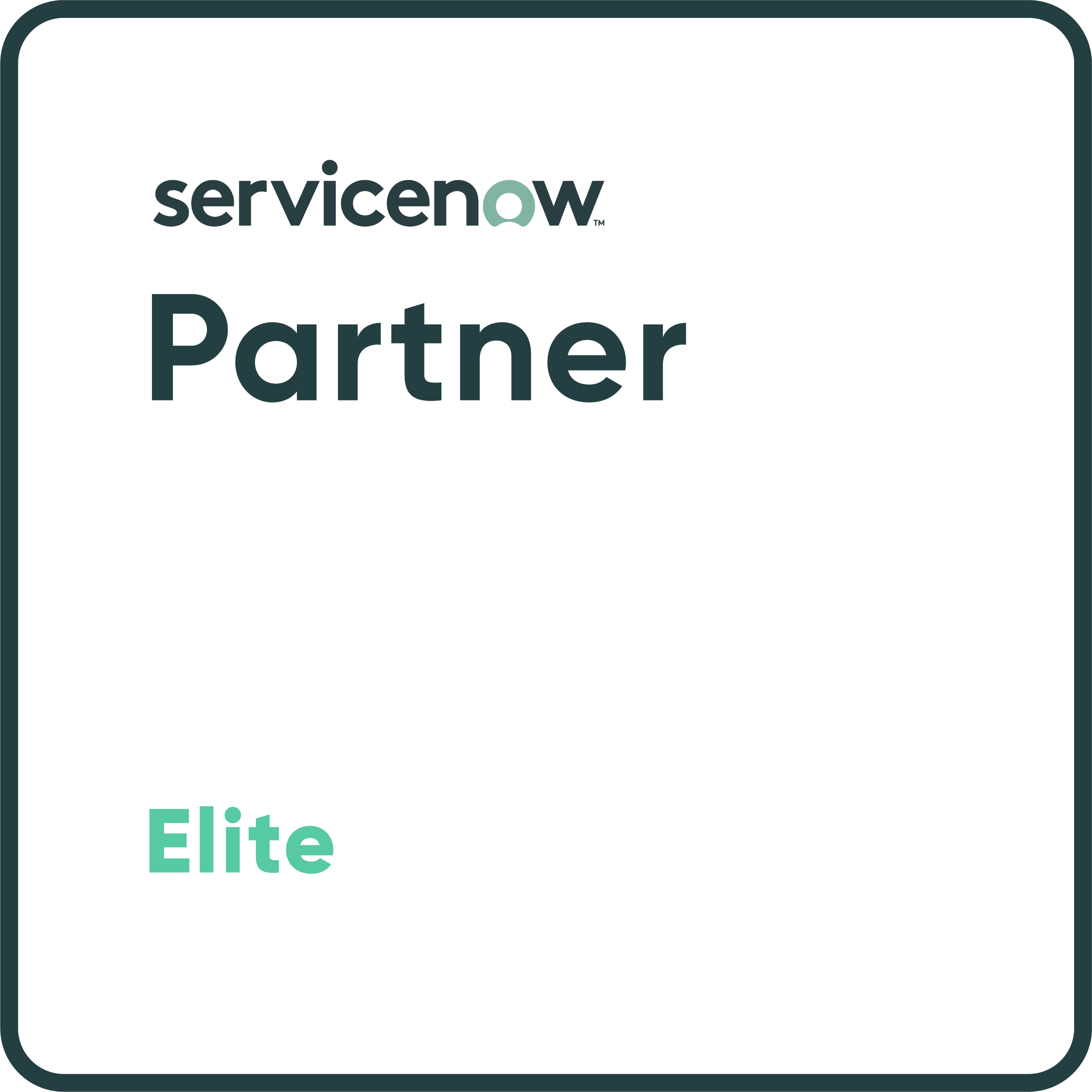 ServiceNow Elite Partner Badge
